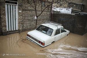 عکس/ نورآباد لرستان یک روز پس از سیلاب