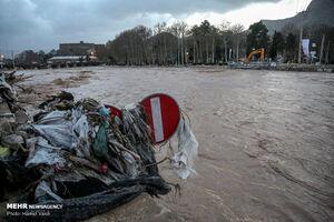 فیلم/ خسارات سیلاب بخش کوهنانی در خرم آباد