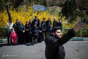 عکس/ سیزدهبدر تهرانیها در پارک نهج البلاغه
