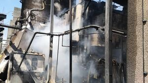 خرابکاری در بزرگترین نیروگاه برق ونزوئلا +فیلم و عکس