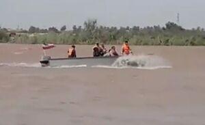 فیلم/ قایقهای سپاه در کارون
