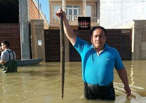 عکس/ شکار امروز یکی از اهالی آققلا
