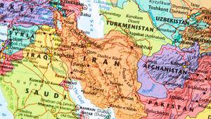 نقشه ایران و همسایههایش - نمایه