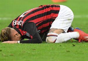 میلان برای سومین بار متوالی از پیروزی بازماند