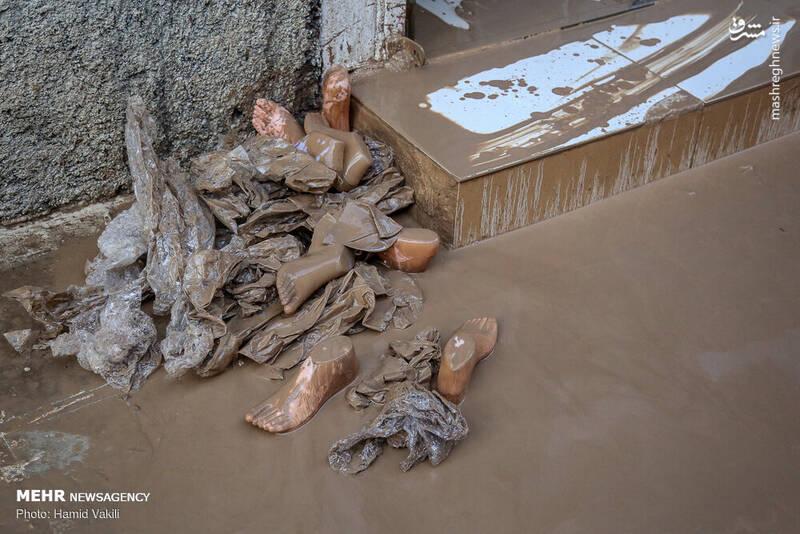 عکس/ خرم آباد یک روز بعد از سیل