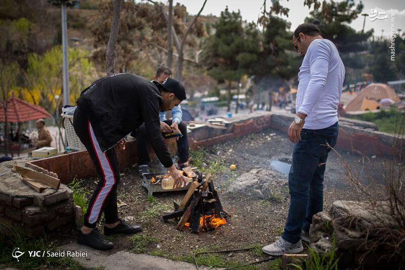 عکس/ سیزدهبدر تهرانیها در پارک نهج البل