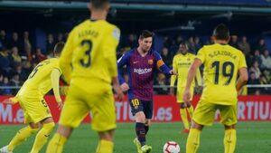 فرار بارسلونا از شکست در آخرین ثانیهها