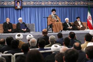 عکس/ دیدار مسئولان و سفرای کشورهای اسلامی با رهبرانقلاب