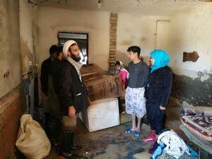 اعزام تیم امدادرسانی هیات رزمندگان اسلام به شهرستان آق قلا