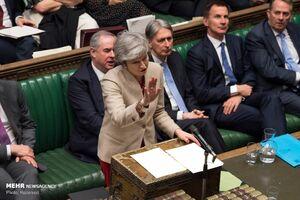 مخالفت پارلمان انگلیس با برگزیت بدون توافق