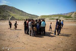 آشپزخانه موکب عتبات عالیات آبادان در پلدختر +فیلم