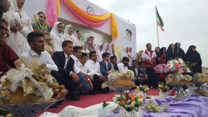 فیلم/ ازدواج جهادی در مناطق سیل زده