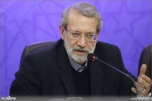 عکس/ لاریجانی در جلسه ستاد مدیریت بحران لرستان