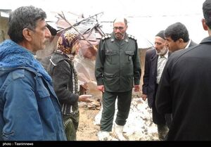 عکس/ خدمت رسانی سپاه اردبیل در مازندران