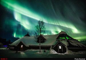 تصاویر حیرت انگیز از شفق قطبی