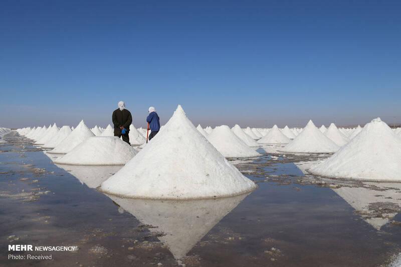 زیبایی معادن نمک