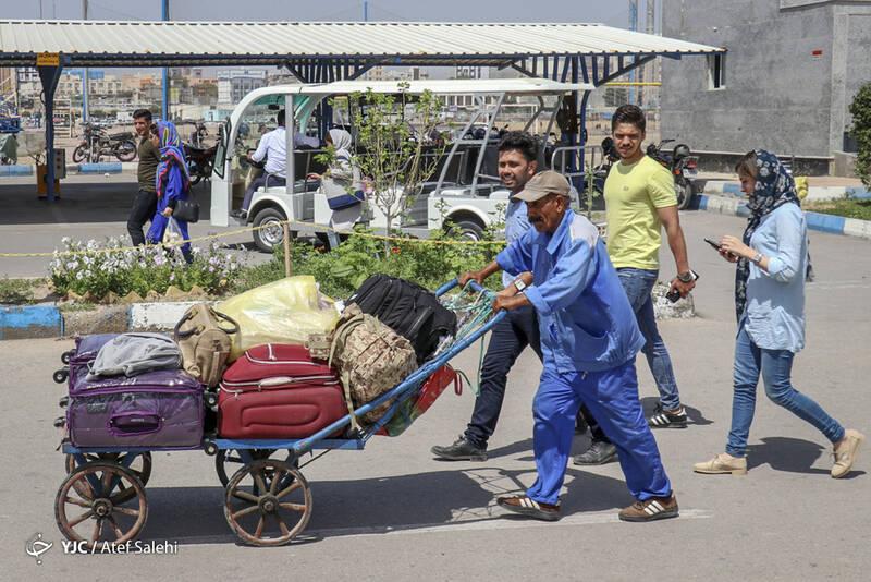 مسافران نوروزی بندرعباس