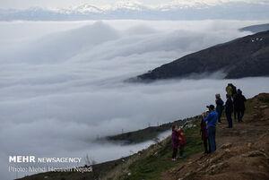 عکس/ سفر به گردنههای ابری حیران