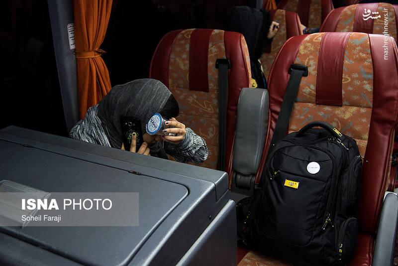 عکس/ تصادف اتوبوس مسافربری تهران_ارومیه