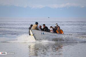 روزهای بهاری دریاچه ارومیه