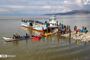 آخرین وضعیت دریاچه ارومیه پس از بارشهای اخیر