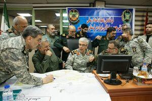 جلسه فرماندهی عملیات امدادرسانی نیروهای مسلح در لرستان