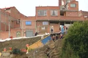 فیلم/ بولیوی هم گرفتار بارندگی شدید شد