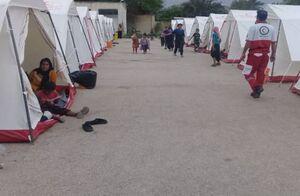 واکنش هلال احمر به فروش چادرهای امدادی