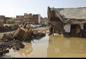 تصاویر جدید از سیل در پلدختر و چم مهر
