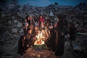 عکس/ جشن تولد متفاوت فلسطینیها