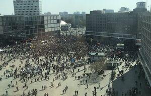 تظاهرات مردم آلمان در اعتراض به افزایش اجارهبهاء مسکن +عکس