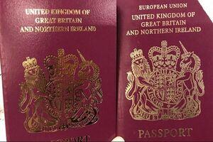 گذرنامههایی بدون عنوان «اتحادیه اروپا»
