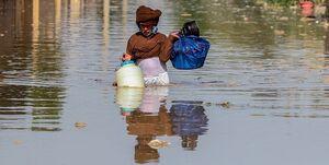 فیلم/ ورودی شهر اهواز زیر آب رفت