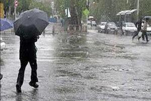 بارش باران و برف در استان تهران