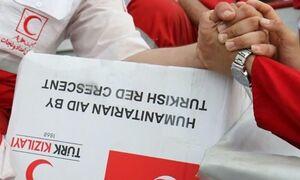 توزیع کمکهای ترکیه در روستاهای سیلزده گلستان +عکس