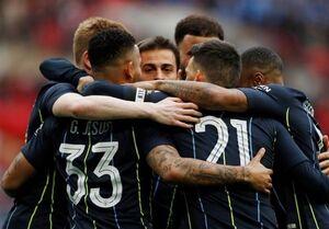منچسترسیتی فینالیست جام حذفی انگلیس شد
