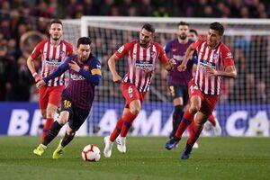 فیلم/ خلاصه دیدار بارسلونا 2-0 اتلتیکومادرید