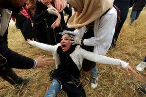 عکس/ تشدید درگیریها در نوار غزه