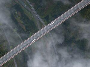 عکس/ مرتفع ترین پل جهان