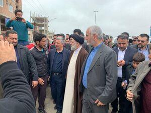 فیلم/ درخواستهای اهالی آققلا از حجتالاسلام رئیسی