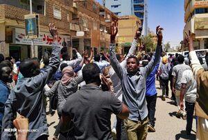 عکس/ تظاهرات ضد دولتی در سودان