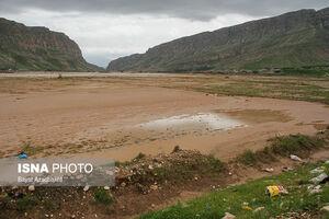 عکس/ تخریب کامل روستای «خرسدر علیا» براثرسیل