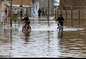 کودکان سیل زده استان گلستان