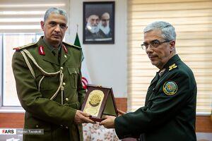 دیدار رئیس ستاد مشترک ارتش عراق و سرلشکر باقری