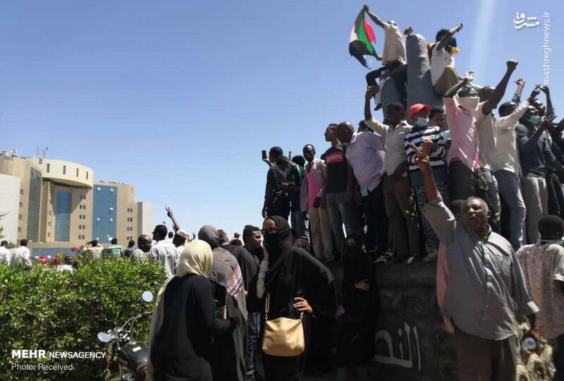 عکس/ تظاهرات ضد دولتی در سودان - 1
