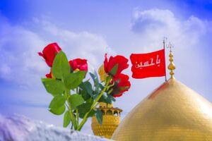 گلآرایی اعتاب مقدسه کربلا