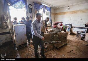 بازدید رئیس کمیته امداد کشور از مناطق سیلزده پلدختر