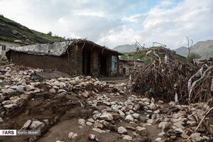 روستاهای « چِـگِـنی » بعد از سیل