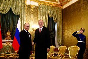دیدار اردوغان و پوتین در مسکو