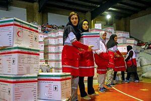فیلم/ وضعیت کمکهای خارجی به سیل زدگان